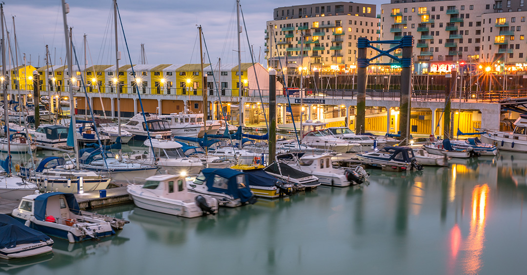 Photo of The Brighton Marina to illustrate the marina industry